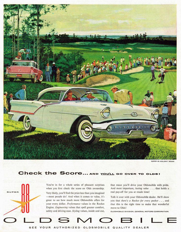 57 best OLDSMOBILE CAR ADS images on Pinterest | Old school cars ...