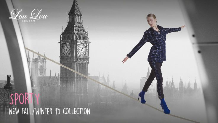Sporty from La Grande Boucle du Mix & Match  the new Fall/Winter 2015 collection from Lou Lou London