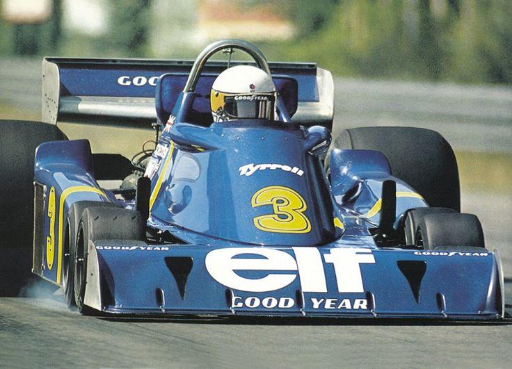 Jody Scheckter (ZAF), Tyrrell P34 Zolder, 1976.