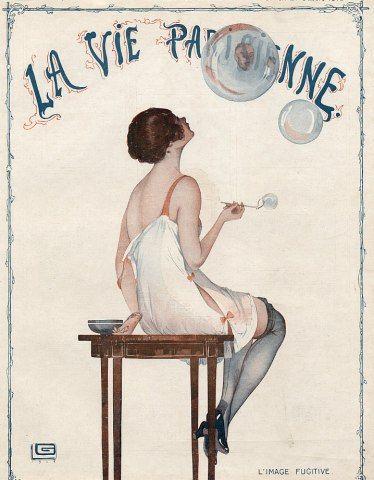 Parkerhawn Vintage: DECO DELIGHTS: La Vie Parisienne Magazine