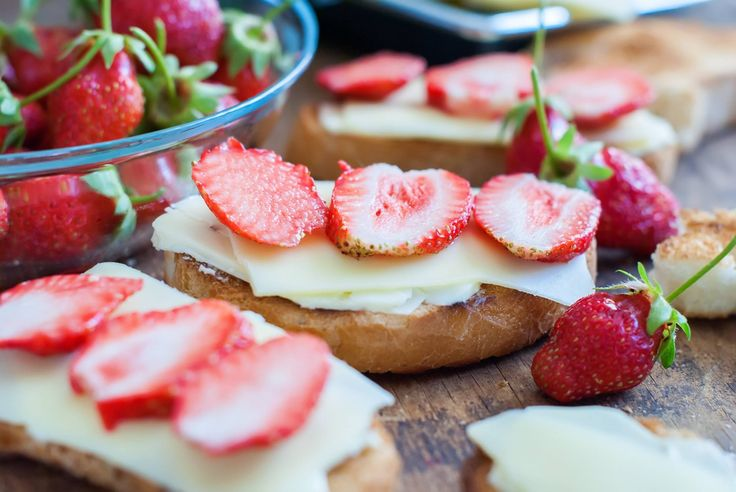 Strawberries are a great berry to pair with our 12 month Aged Cheddar.