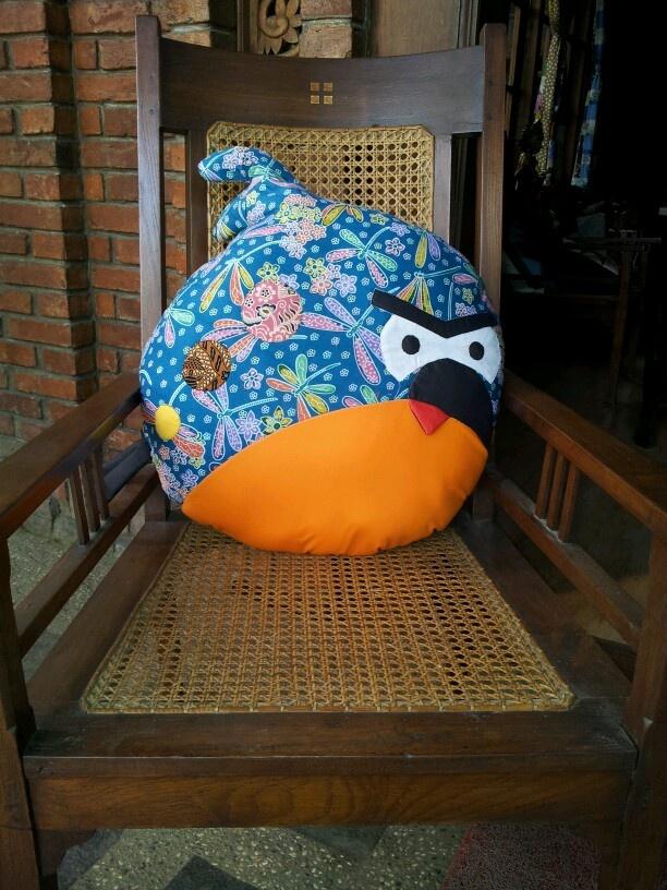 Angrybird in Batik