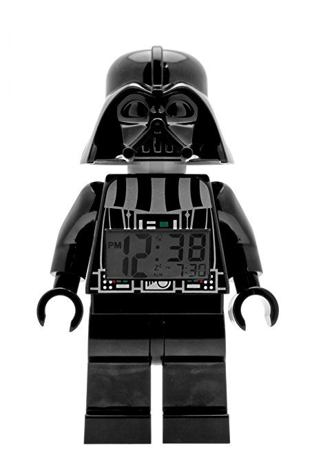 ClicTime - 9002113 - Lego Star Wars Darth Vader Minifiguren Wecker - schwarz