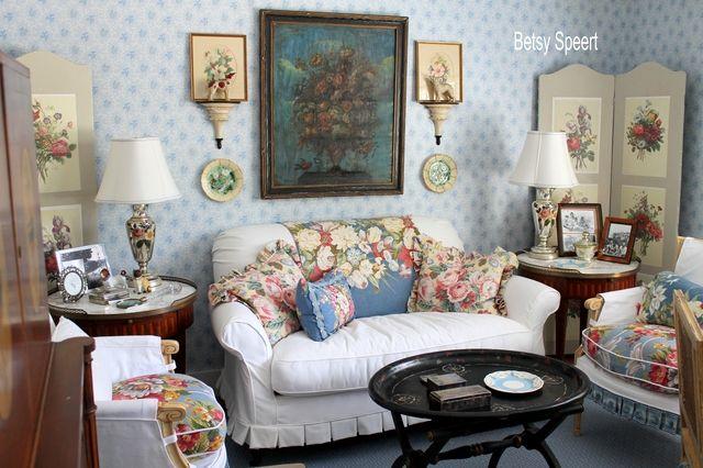 Betsy Speert's Blog: Cottage Sitting Room