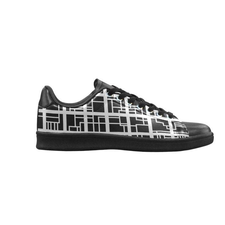 Lines and Squares Scorpius low top Sneakers (Model 023)