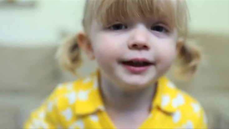 This two-year-old is just learning to speak in complete sentences, but she knows enough words to make you cry! This is her birthday message to her mom, but I like to think it's also for every mom everywhere!