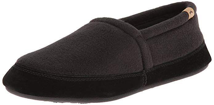 Acorn Men S Moc With Premium Memory Foam Review Slippers Slippers Store Dress Shoes Men