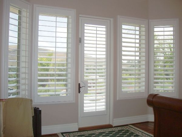 19 best images about permawood plantation shutters on for Shutter window treatment ideas