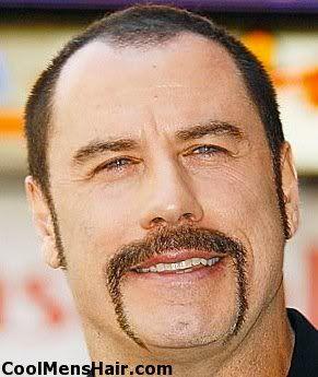 John Travolta Mustache Styles And How To Grow On Pinterest