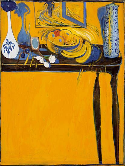 BRETT WHITELEY Table and Fruit (1978)