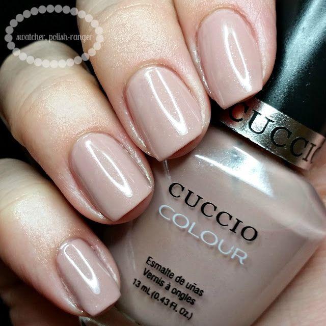 Cuccio Gel Polish: Cuccio Colour Nude-a-Tude Swatch