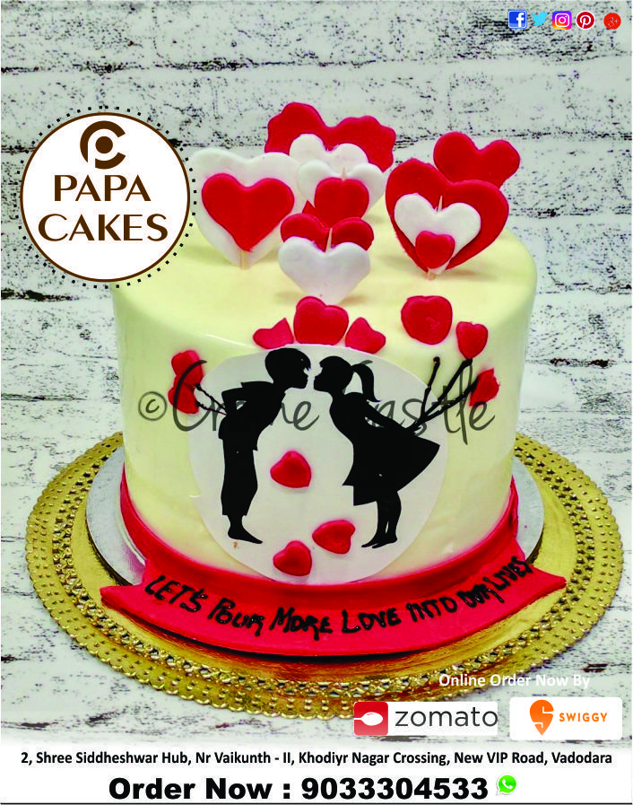 Cakes for him, cakes for her, cakes for son, daughter. Any Flavour 500gm Normal Cake Just Rs 199 500gm Photo Cake Just Rs 249 1kg P Anniversary Cake Pictures Chocolate Truffle Cake Anniversary Cake Designs