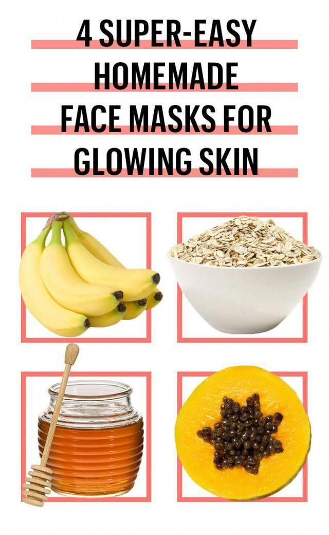 6 Easy DIY Face Mask Recipes – Best Homemade Face Masks for Glowing Skin #Homema…