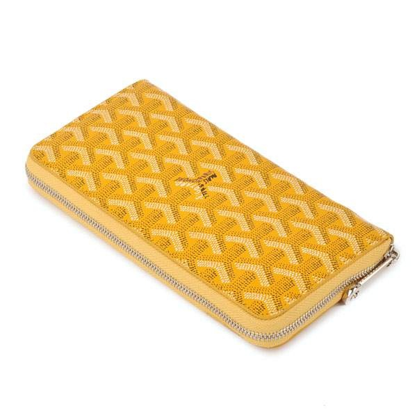 Amazing Designer Goyard Wallets 20086 Yellow Cheap | Buy Goyard Bag