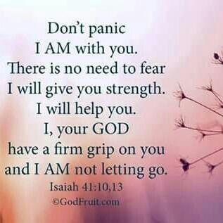 Isaiah 41 :10,13