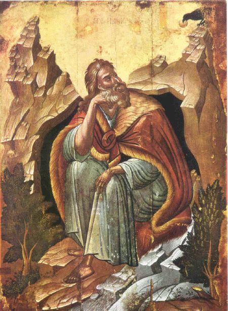 There is rich detail and artistry in this icon of the Prophet Elias. Description…