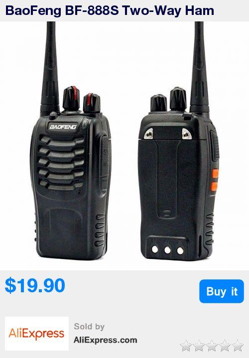 BaoFeng BF-888S Two-Way Ham Radio, UHF 400-470 MHz Portable Handheld * Pub Date: 02:15 Sep 18 2017