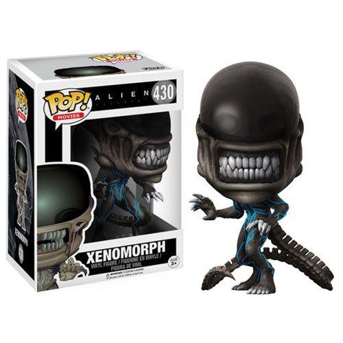 """Alien Covenant Xenomorph Pop!   Junte-se à tripulação da colônia navio Covenant para um planeta remoto ... ou sua prateleira!DeAlien Covenant vem o Xenomorph!Embalado em uma caixa de exibição de janela o Alien Covenant Xenomorph Pop!mede aproximadamente 3 3/4-"""" de altura.   Alien Covenant Neomorph Pop! Alien"""