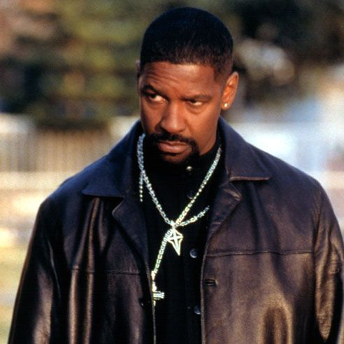 "Denzel Washington another method actor. Love him in ""Training Day""."