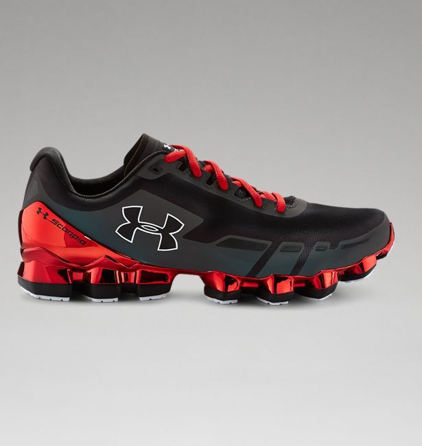 "Men's UA Scorpio Chrome Running Shoes ""Yes Please""!"