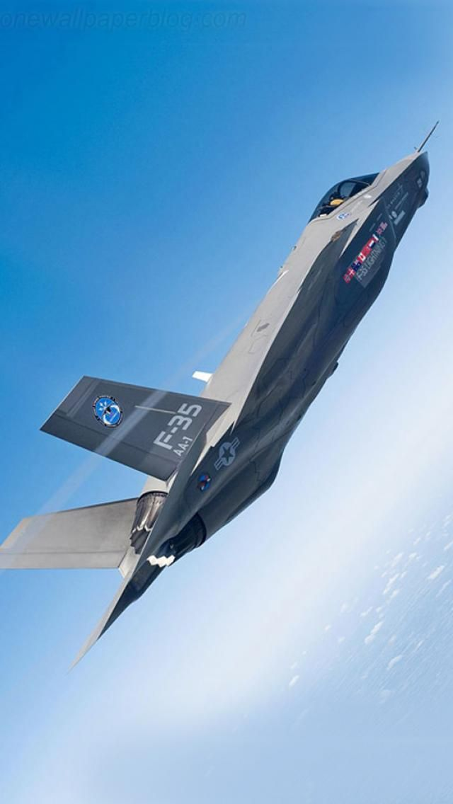 F35 Lightening II jet - future fighting plane for Canada.