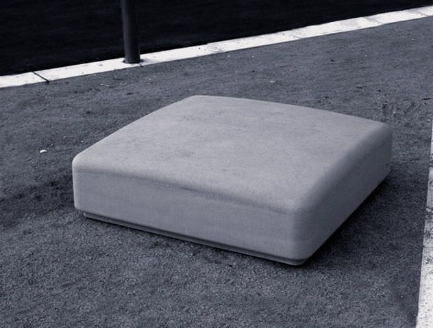 Public bench / contemporary / engineered stone - PUFF by Arriola&Fiol - Escofet