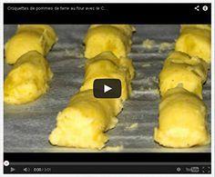 Croquettes de pommes de terre au crousty party