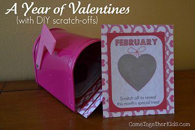 Valentine S Day Scratch Card Template