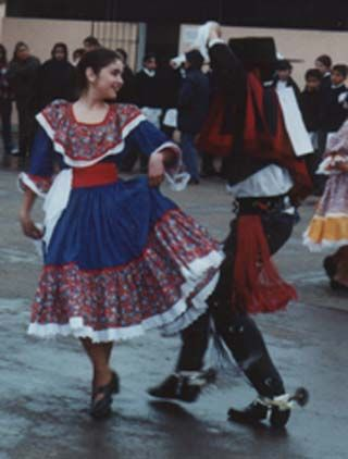 La Cueca, the national dance of Chile. I would love to learn the dances of the the culture.