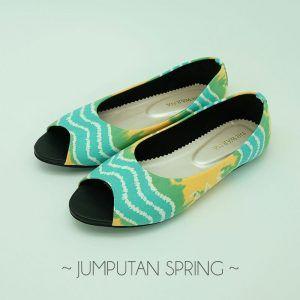 The Warna Shoes Jumputan Spring
