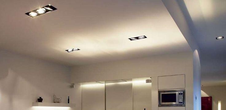 installer un spot encastrable comment faire d co pinterest ceiling and lights. Black Bedroom Furniture Sets. Home Design Ideas