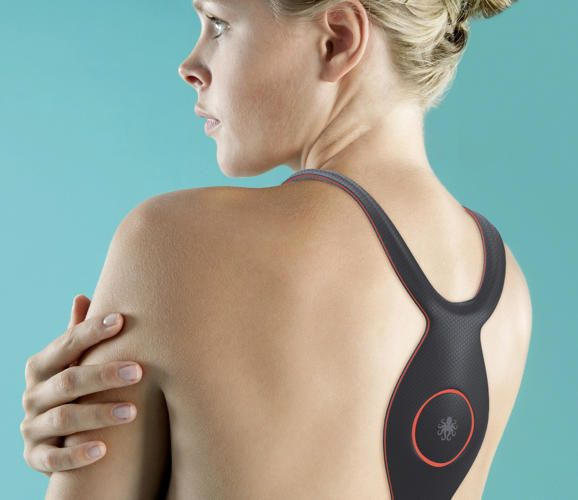"4 Wearables That Give You Superpowers | Co.Design | business + design ""Kineseowear is basically kinesio tape come to life. It's a stick-on, artificial muscle..."" #PutITon"
