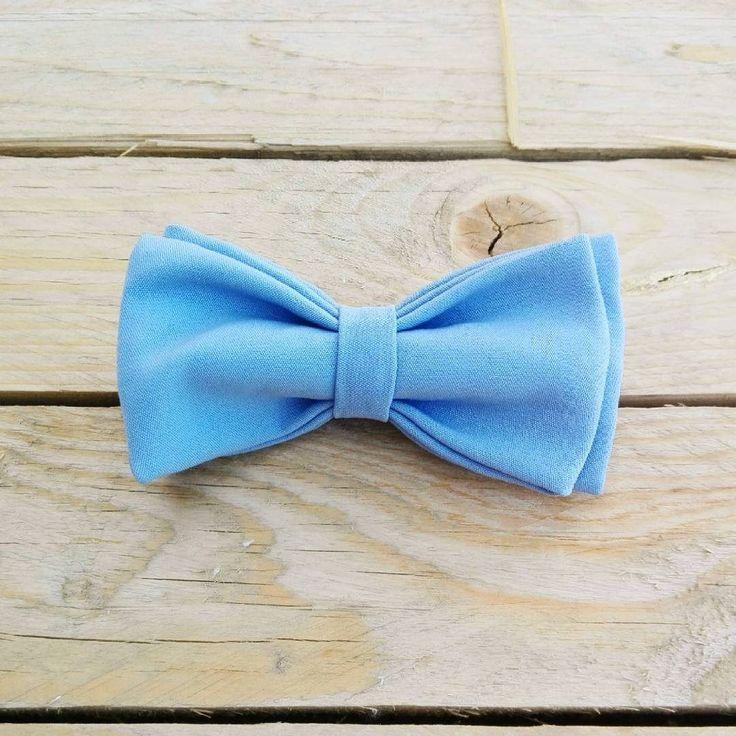 Papillon azzurro, blu chiaro, pastello. di PapillonDiSharon su Etsy