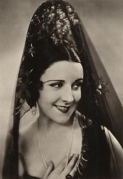 Imperio Argentina actriz y cantante n.en Buenos Aires en 1906+2003 en Benalmádena. España