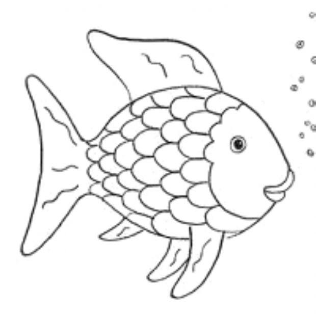 pin auf fisch zum ausmalen