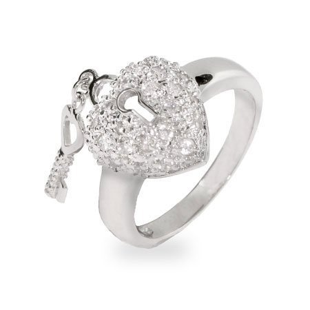 The Key To My Heart Sterling Silver Ring Size 5 (Sizes 5 6 7 8 9 10 Available) Eve's Addiction,http://www.amazon.com/dp/B000KBGKNK/ref=cm_sw_r_pi_dp_0waJrbAEC0034881
