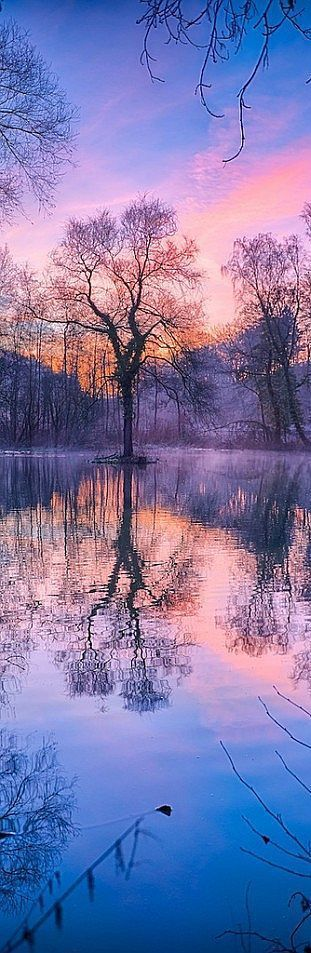 WINTER SUNRISE #quelle: www. ArchitectureArtDesigns .com -- arnie2105