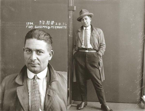 Stylish Vintage Mugshots Of 1920s Criminals Looking Incredibly Dapper - DesignTAXI.com