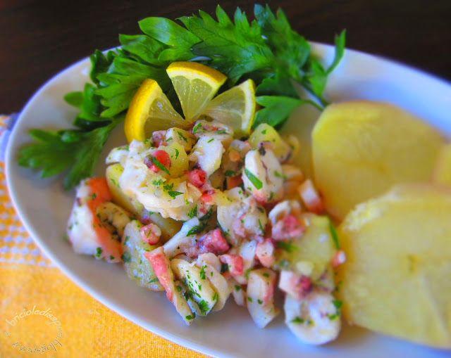 Briciole di Sapori           : Polipo con patate in insalata