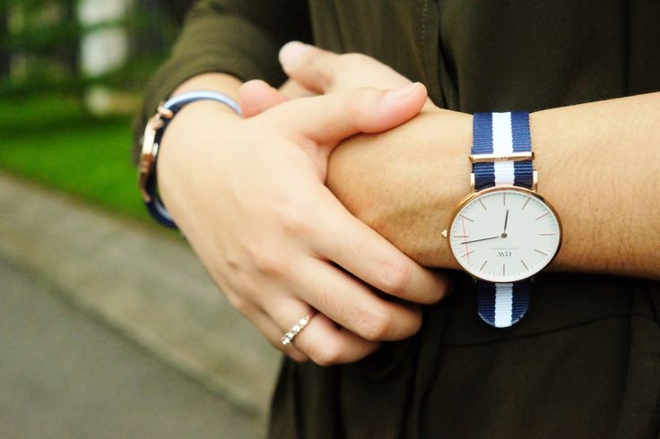 A gift for you, Arcilland x Daniel Wellington. Perfect watch for Wife and Husband. Use promo code: INAAYA to get 15% discount and free shipping when you purchase a watch from www.danielwellington.com