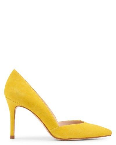 1000 id es sur le th me escarpin jaune sur pinterest talons jaunes talons lumineux et pompes. Black Bedroom Furniture Sets. Home Design Ideas