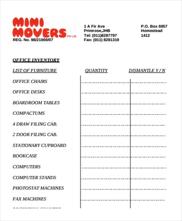 office supply inventory templates 10 free xlsx docs pdf