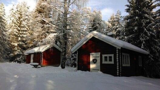 My cabin Min norske skogshytte