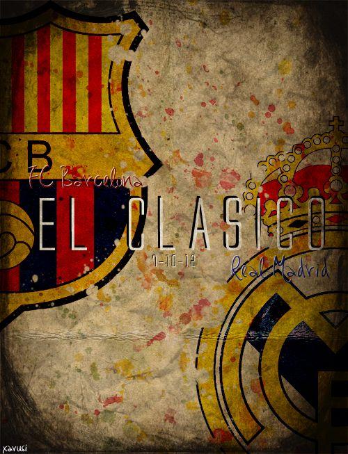 FC Barcelona vs. Real Madrid. El Clásico