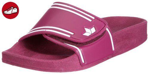 Lico COAST V, Mädchen Dusch- & Badeschuhe, Pink (PINK/WEISS), 35 EU (2.5 Kinder UK) - Lico schuhe (*Partner-Link)