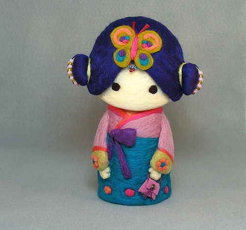 Although it is not japanese ... hanbok