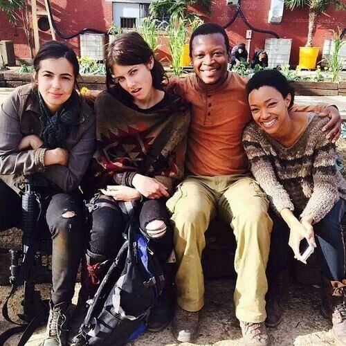 Alana Masterson...Tara, Lauren Conrad...Maggie,  Laurence Gilliard, Jr...Bob & Sonequa Martin Green...Sasha. The Walking Dead.