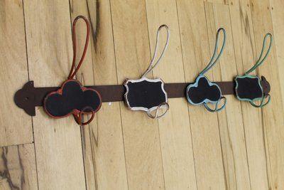 Multi Coloured Metal Hooks