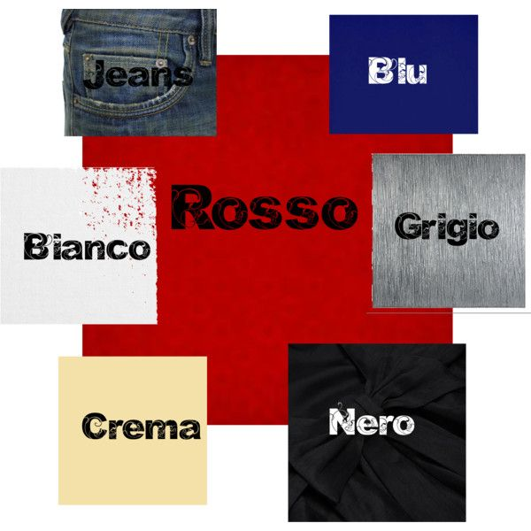 """""""Rosso"""" by annavenere3 on Polyvore"""