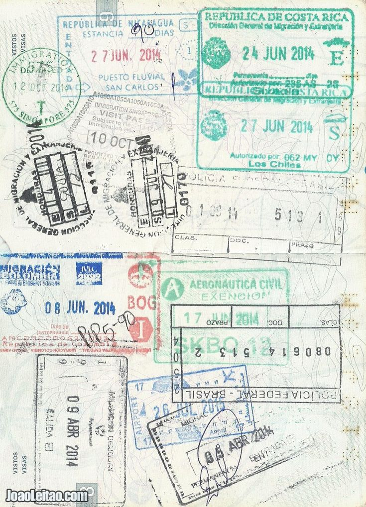 FULL PASSPORTS: Images of stamp and visa filled up passports. Different images of passports full of entry or exit border stamps and visas.